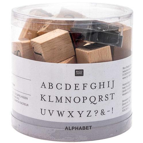 Stempelset ABC