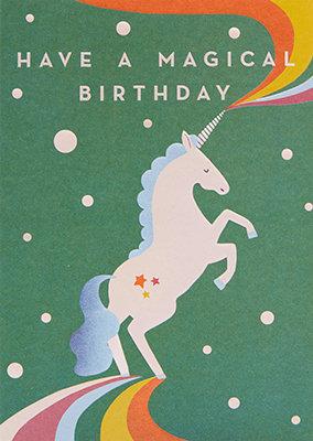 Grußkarte Have a magical birthday