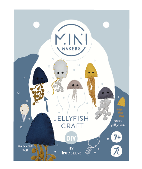 Minimakers Bastelset Quallen