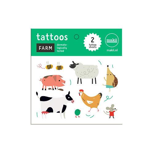 Tattoos Bauernhof