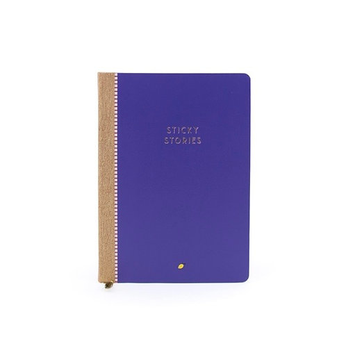 Notizbuch Sticky Stories liniert