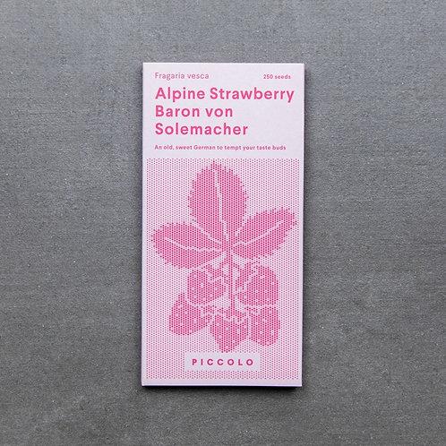 Saatgut Erdbeeren Baron von Solemacher