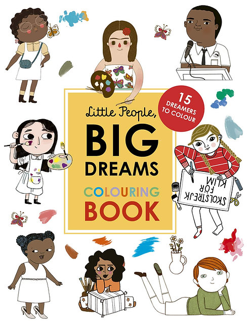 Little People, BIG DREAMS Malbuch (englisch)