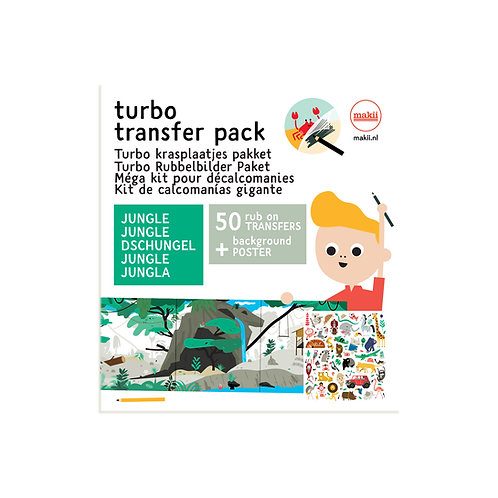 Turbo Rubbelbilder Paket Dschungel