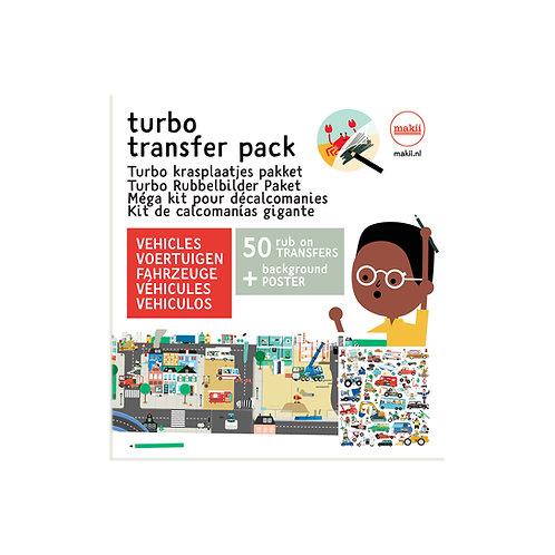 Turbo Rubbelbilder Paket Fahrzeuge
