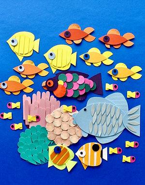 Papierset Great Barrier Reef