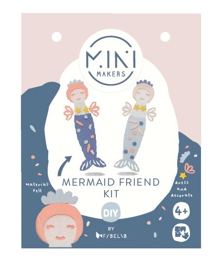 Minimakers Bastelset Meerjungfrauen