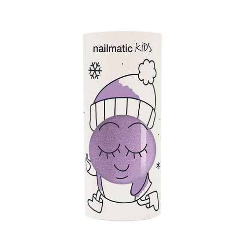 Kindernagellack Piglou violett glitzer
