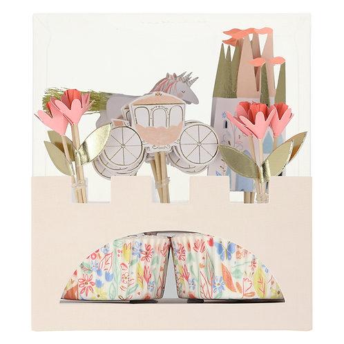 Prinzessin Cupcake Kit