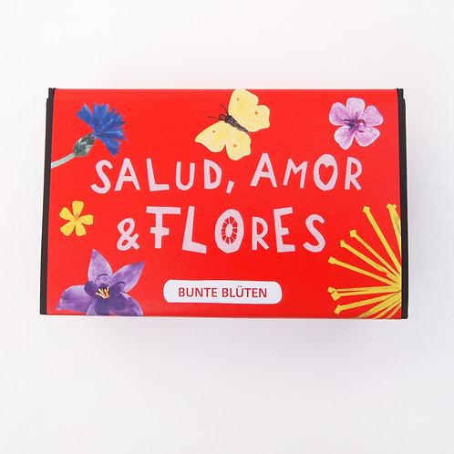 Blumenkugeln Salud, Amor & Flores Bunte Blüten