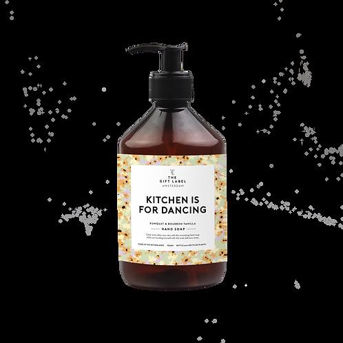 Kitchen is for dancing Handseife 500 ml