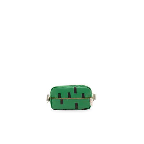 Bauchtasche Sprinkles grün/blau