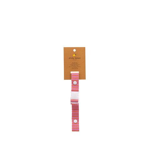 Brustgurt Stripes pink/orange