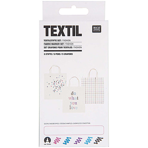 Textilstifte Set Fashion