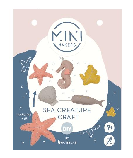 Minimakers Bastelset Meeresbewohner
