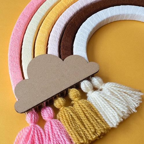 DIY Rainbow Honey Pink