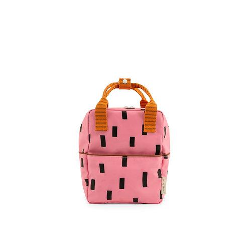Rucksack Sprinkles klein pink/orange/braun
