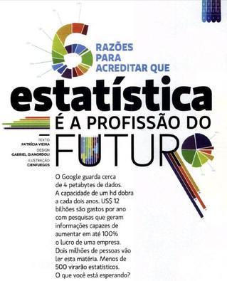 Estatística: A profissão do futuro