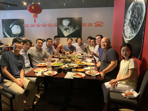 Lab lunch at Red Lotus (10/2019)