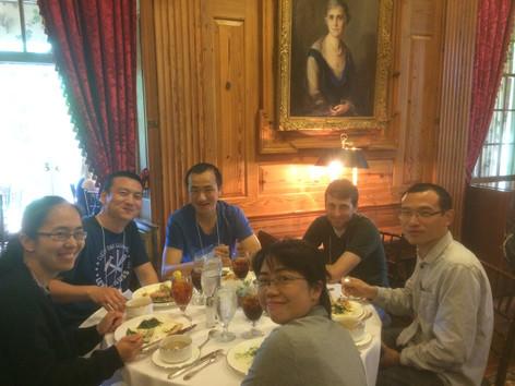 Wang&Liu Labs at DuBose house-BCBP 2017 retreat