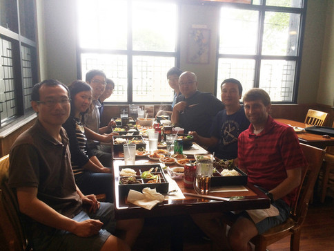 Lab Lunch at Min Ga (August 2017)