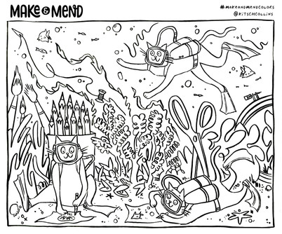 Make & Mend – Coloring Pages