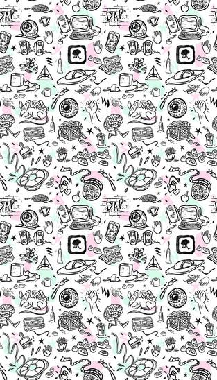 Dorchester Art Project – custom wallpaper design