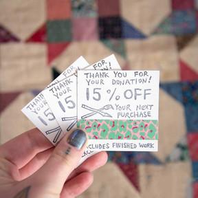 Make & Mend – Coupon Stamp