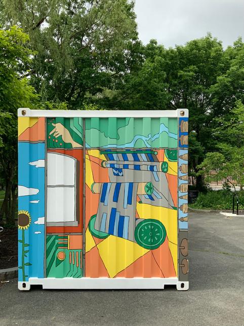 Kerouac Park Container