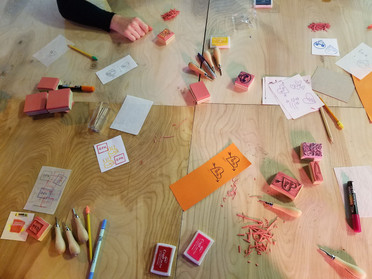 Stamp-Making Workshop @ SpaceUs