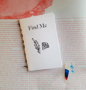 FIND ME mini-zine, 2020