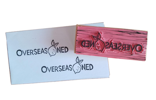 Overseasoned Amy – Logo Stamp