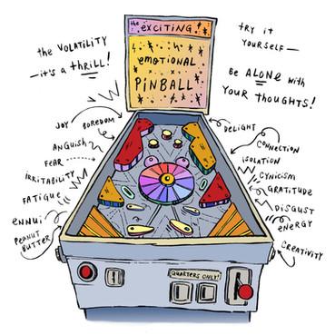 Emotional Pinball