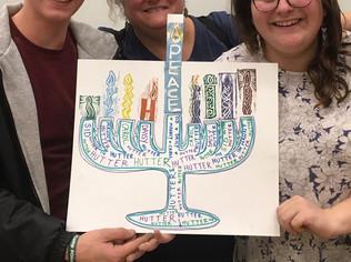 Stamp Your Own Menorah – Hanukkah @ the MFA