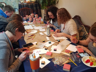 Haggadah Stamp-Making @ the Canopy Room