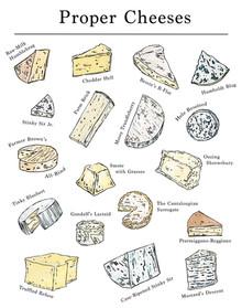 Proper Cheeses