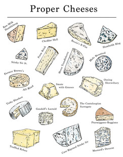 Proper Cheeses