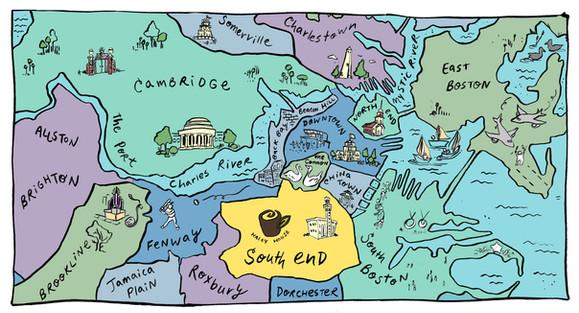 Boston / South End – Custom Map