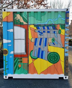 Kerouac Park Mural