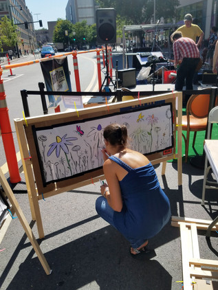 PARKing Day 2019 – Oversized Coloring Pages