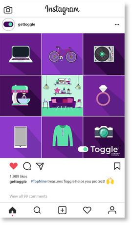 Toggle TopNine