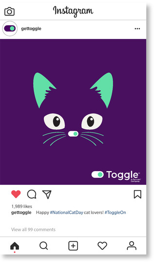 Toggle Cat Day