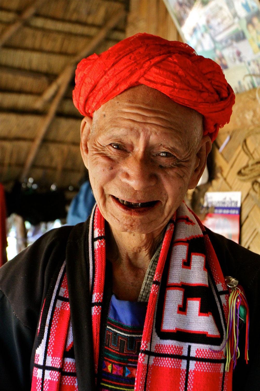 Elderly Thai Man