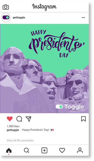 Toggle Presidents' Day