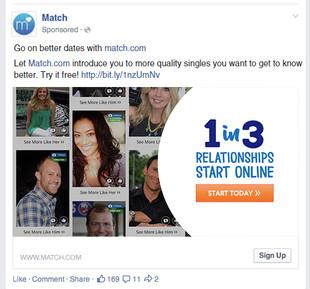 Match: 1 in 3 Relationships Start Online