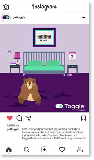 Toggle Groundhog Day
