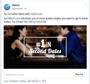 Match: #1 in Second Dates