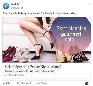 Match: Start planning your next date
