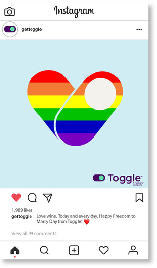 Toggle Freedom to Marry Day