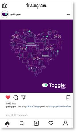 Toggle Valentine's